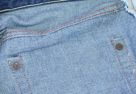 hidden levis rivets example